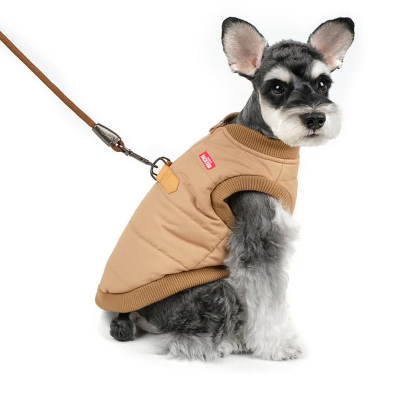 doudoune-harnais-intégré-manteau-chien-chiens-kleps-paris-animalerie-froid-hiver